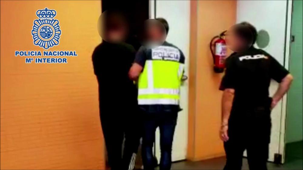 Detenidos infraganti tres atracadores justo en el momento en que iban a dar 'el golpe'