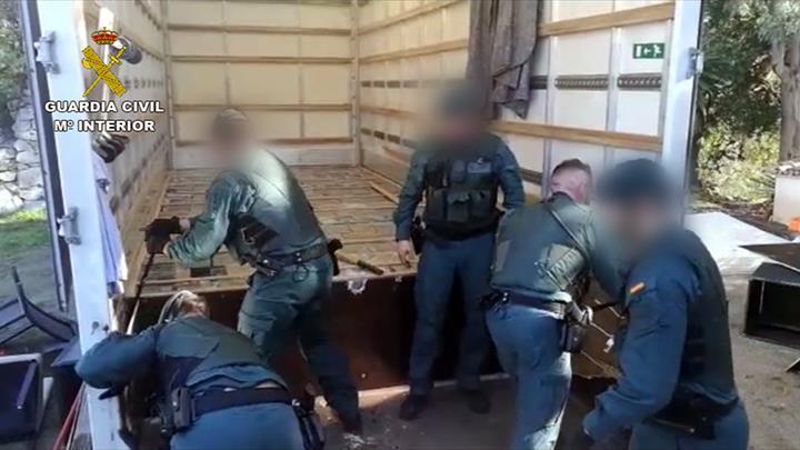 La Guardia Civil desarticula 6 importantes organizaciones delictivas dedicadas al tráfico de drogas a nivel internacional