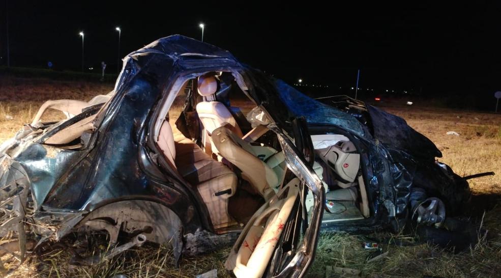Un herido grave tras salirse su coche de la carretera en Almoines