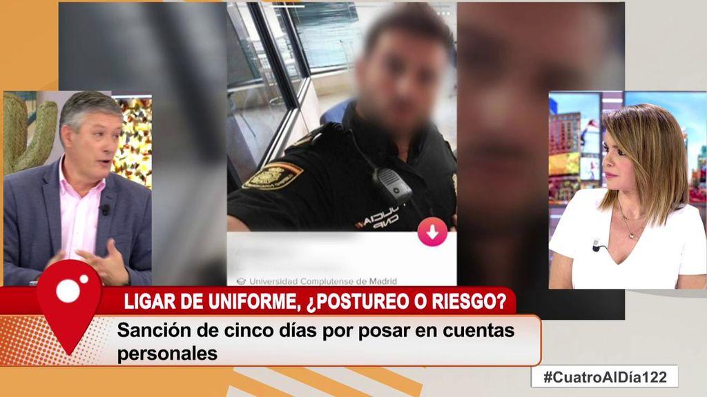 Fotos policiales en las redes, ¿vocación policial o mero postureo?