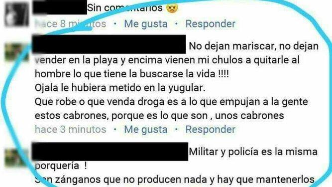 Detenido un vecino de Punta Umbría por amenazar en Facebook al Policía Local que resultó herido