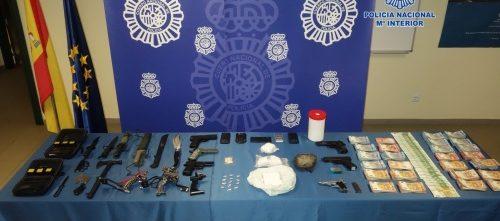 Desmantelado por la Policía Nacional el punto de distribución de heroína que abastecía a toda Asturias