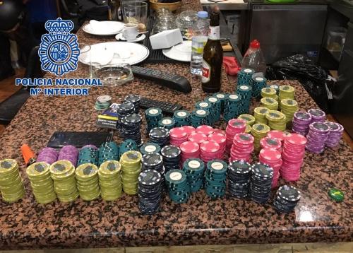 Desmantelado en Madrid un club clandestino para la celebración de torneos ilegales de póker
