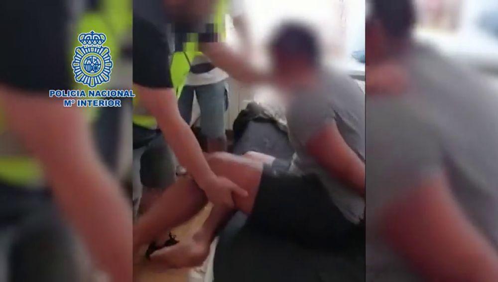 La Policía Nacional libera a un individuo secuestrado y detiene a los cuatro responsables del rapto