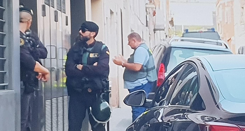 La Guardia Civil detiene a  9 personas de movimientos independentistas catalanes e incauta material explosivo para acciones violentas