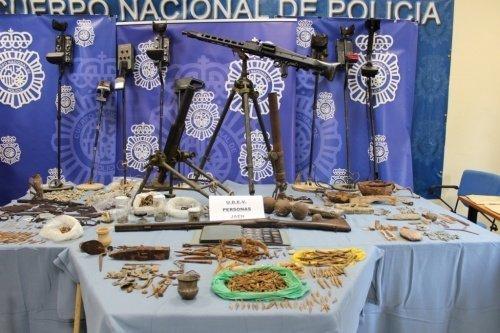 La Policía Nacional concluye la Operación Reina en la lucha contra el expolio del Patrimonio Histórico en Jaén