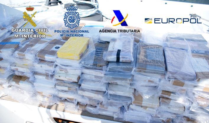 Utilizaban una embarcación de recreo para transportar cocaína de Brasil a España