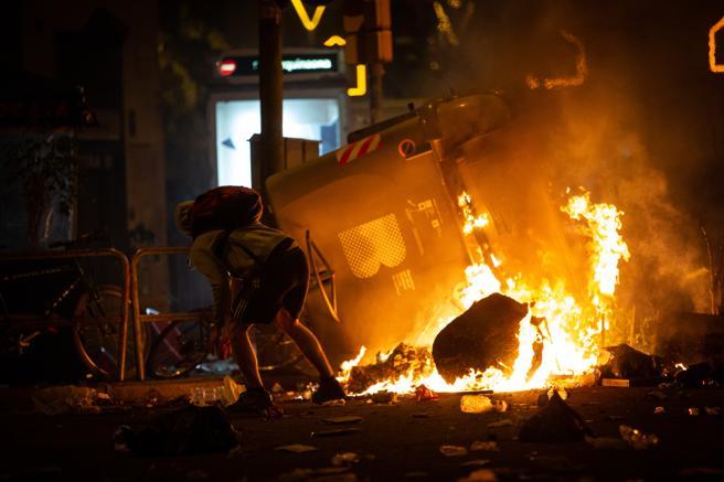 Más de dos millones de euros tendrán que pagar los españoles por los daños causados en Cataluña