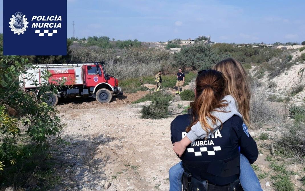 Localizada en buen estado una menor desaparecida en Mula (Murcia)