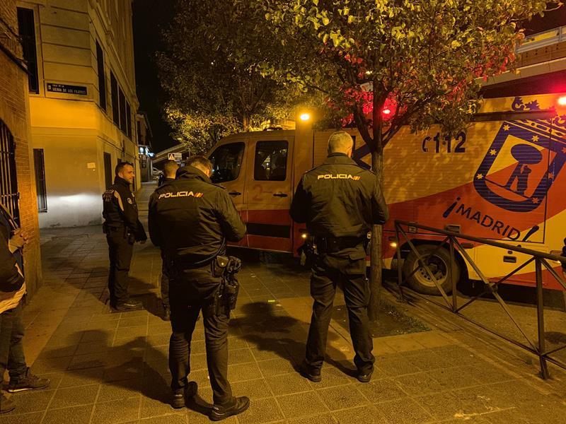 Agresión con arma blanca a un joven de 22 años en Madrid