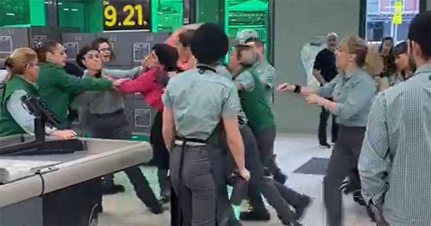 Prisión para la mujer que robó en Mercadona y agredió a empleados