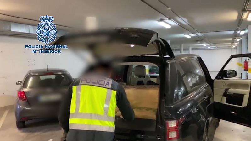 300 kilos de hachís transportados en un vehículo en plena alerta sanitaria
