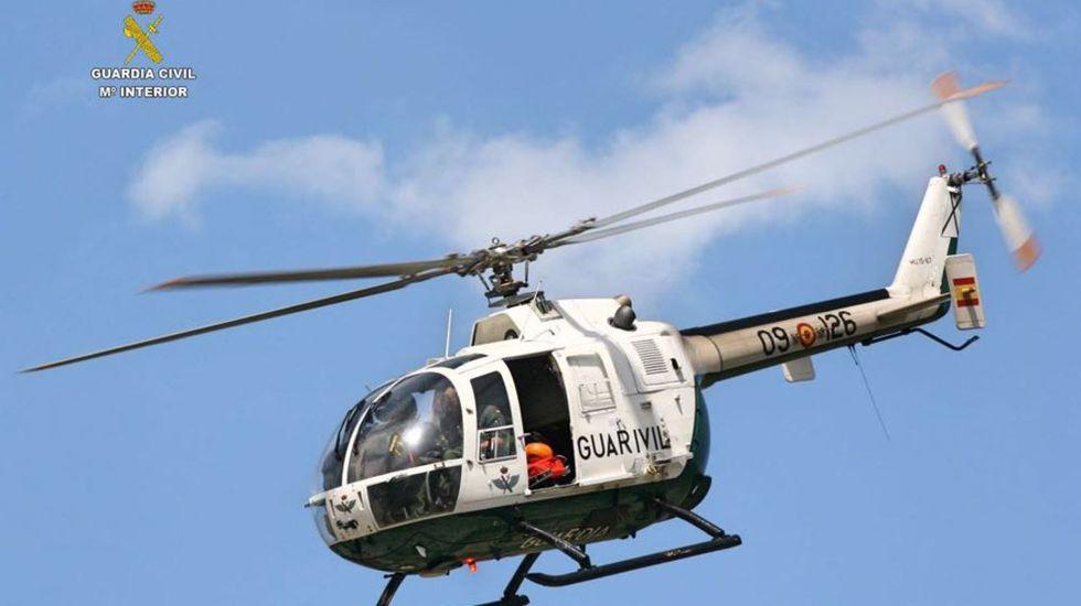 «Te cuidamos desde el aire»: así es la labor diaria del Servicio Aéreo de la Guardia Civil