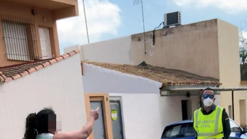 Detenida una falsa sanitaria que recorría el municipio de Los Nietos-Cartagena para diagnosticar Coronavirus