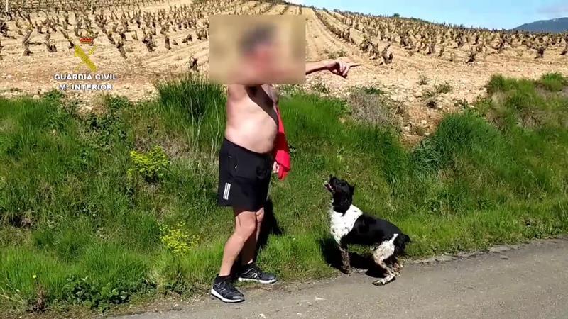 Vídeo de diez denunciados por hacer barbacoas y practicar deporte al aire libre