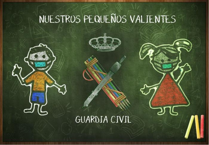 """La Guardia Civil en Huelva pone en marcha """"Nuestros pequeños valientes"""""""