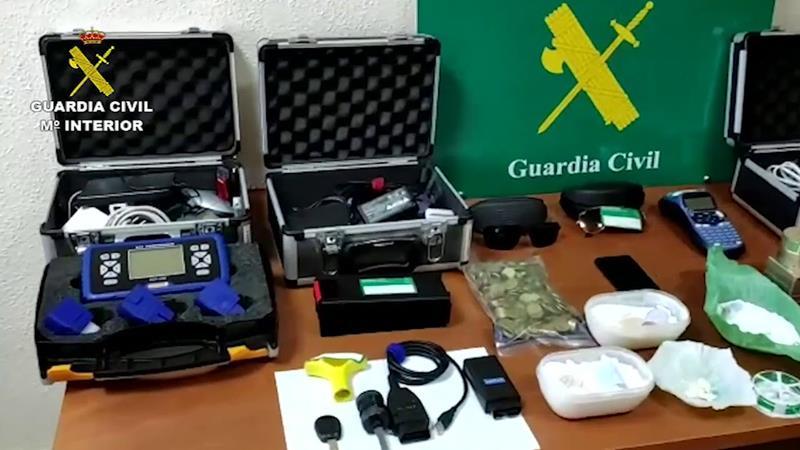 Operación BALCKROOF CERVERO: tres detenidos que robaban farmacias en el estado de alarma