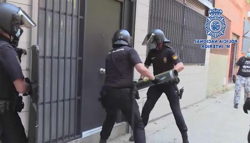 La Policía Nacional desarticula un grupo criminal itinerante dedicado a la comisión de robos
