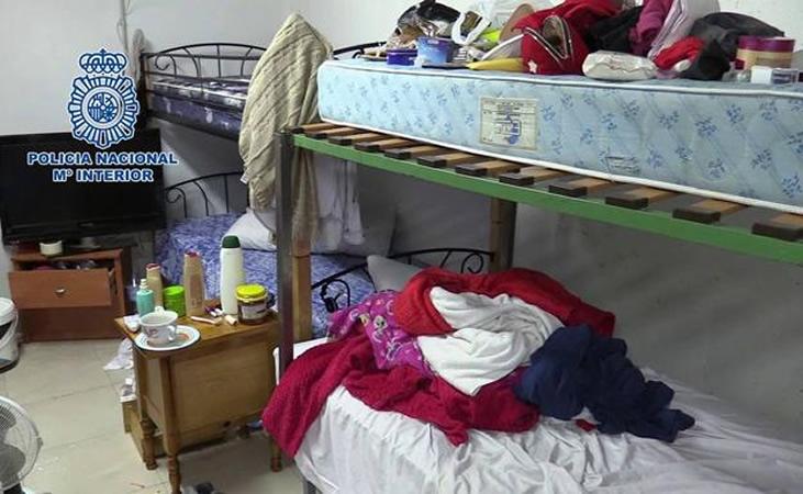 Liberadas cinco mujeres prostituidas y desarticulada una red de trata de seres humanos en Cartagena