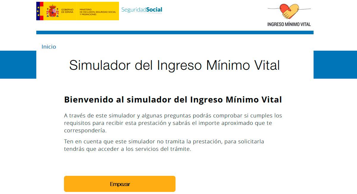 Simulador: comprueba si cumples los requisitos para recibir el Ingreso Mínimo Vital