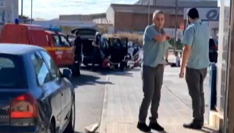 Vídeo | Susto en un supermercado de Ocaña por un posible atraco que acabó siendo un hurto