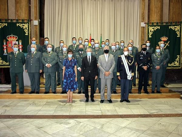 22 guardias civiles han sido condecorados con la Medalla NunoÁlvares Pereira por parte de Portugal