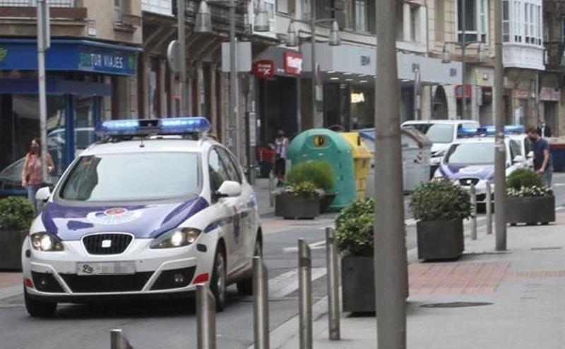 Detenido un hombre en Bilbao por abusos sexuales y por atentado a agentes de la autoridad