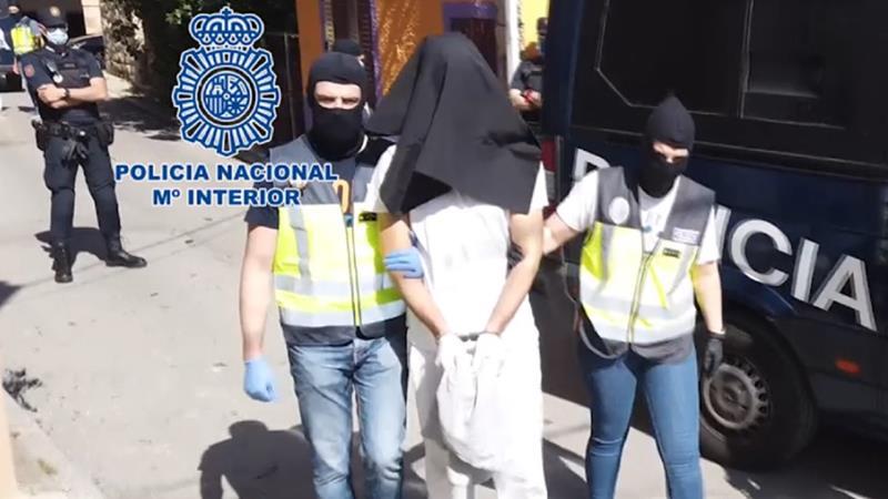 La Policía Nacional desarticula en Vizcaya una organización dedicada a la trata de seres humanos
