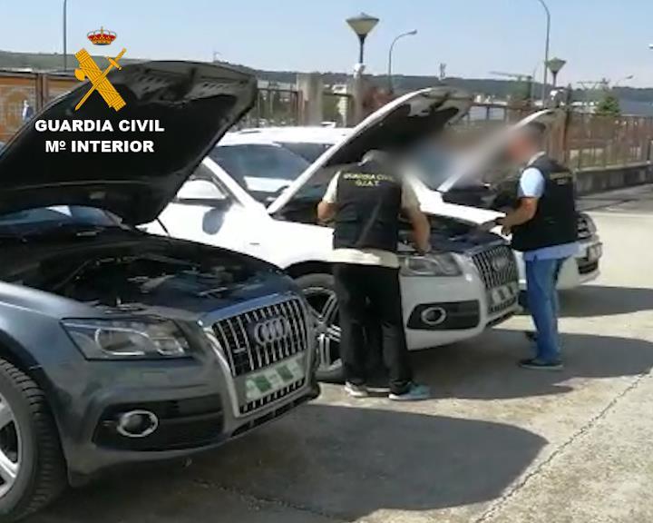 12 detenidos en Madrid y Andalucía por comprar coches con documentación falsa para revenderlos