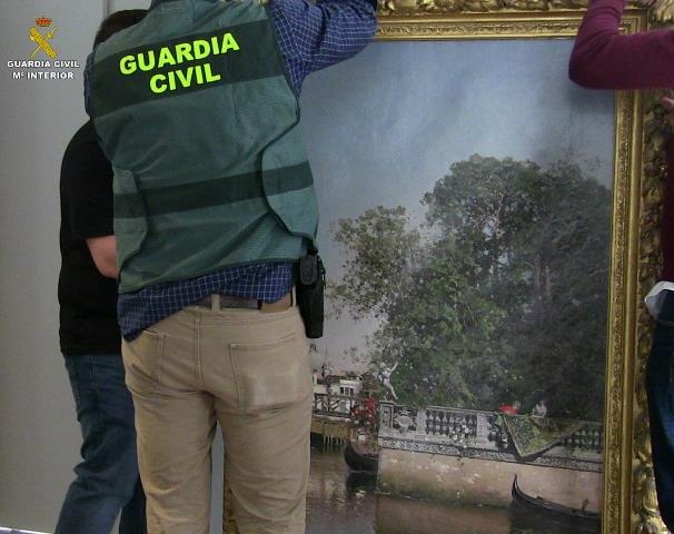 Recuperadas más de 470 obras de arte en litigio por el legado Muñoz Ramonet