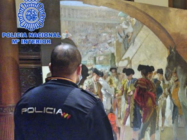 Recuperado en Bruselas un cuadro del pintor Joaquín Sorolla valorado en 3 millones de euros