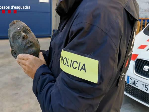 Detenido por robar en Barcelona una escultura conmemorativa de los Juegos Olímpicos de 1992