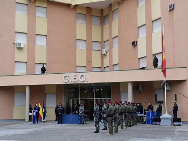 Solo 12 de los 300 aspirantes presentados han jurado hoy el cargo como GEO de la Policía Nacional