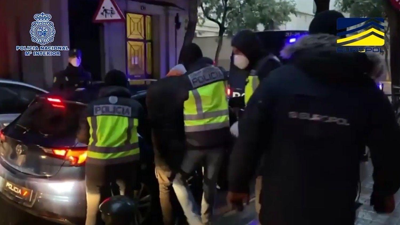 La Policía Nacional detiene en Barcelona a un retornado de DAESH