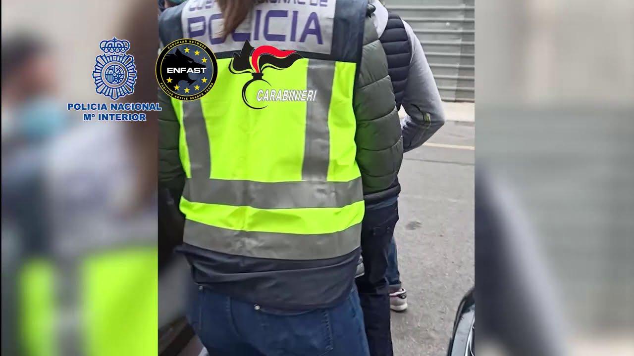 Detenido en Benidorm un fugitivo líder de una red criminal dedicada al robo con explosivos