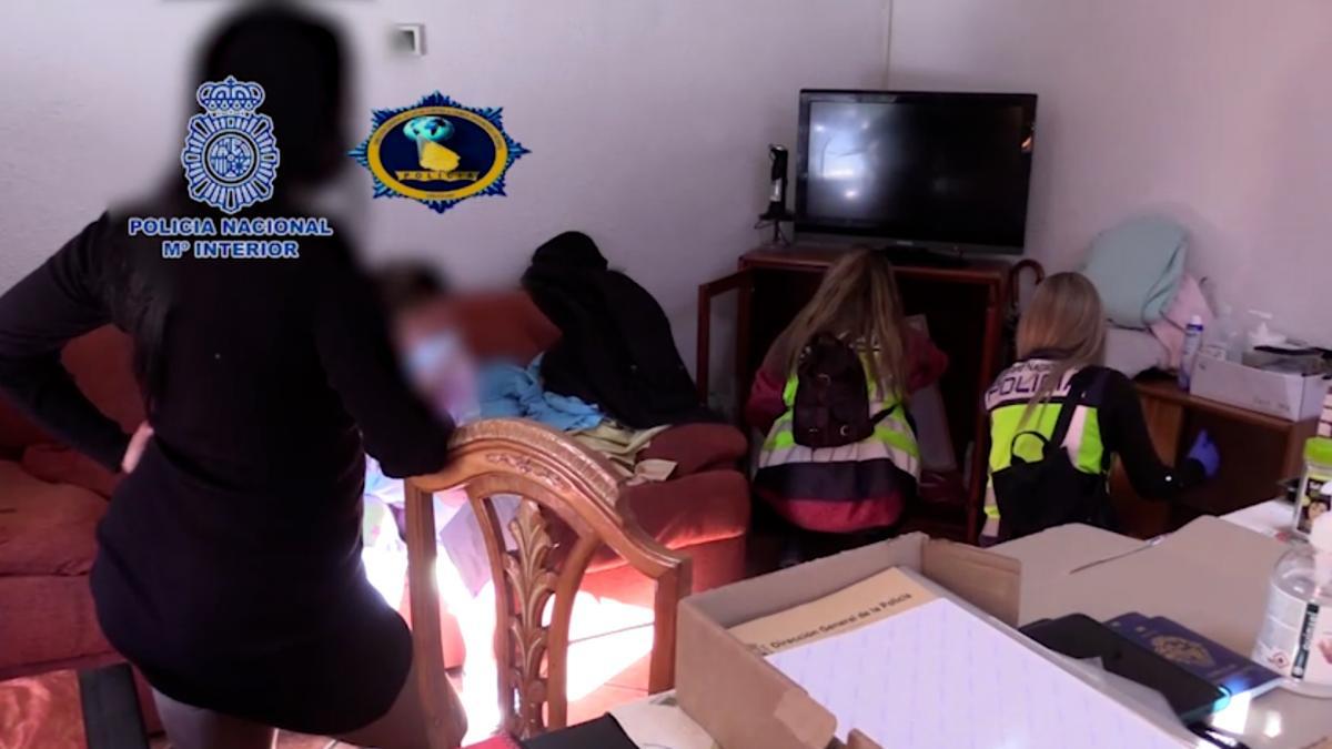 La Policía Nacional libera a cuatro mujeres explotadas sexualmente en Alcalá de Henares