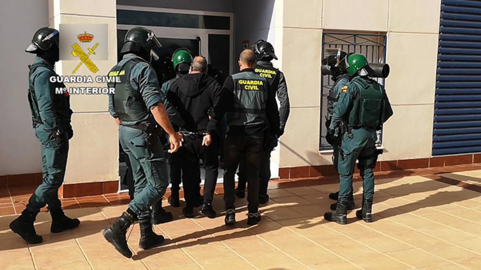 Desarticulada en Alicante una banda motera que se dedicaba al tráfico de marihuana