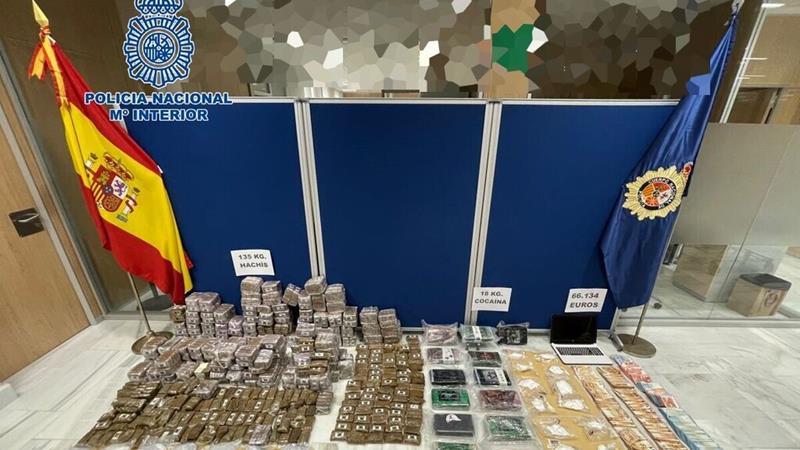 La Policía desarticula en Jerez uno de los grupos de distribución de cocaína y hachís más importantes de Cádiz
