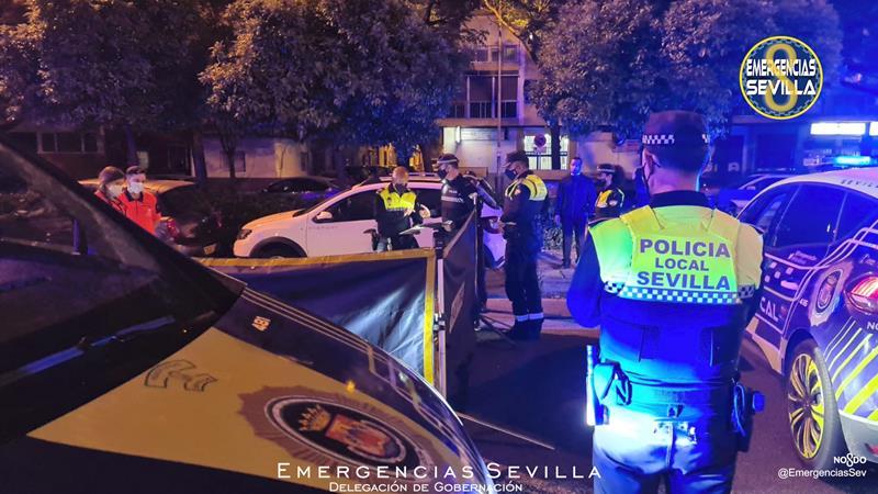 Fallece un peatón atropellado en Sevilla y el conductor se da a la fuga