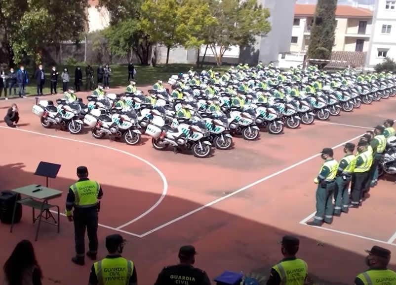 Homenaje a los Guardias Civiles fallecidos en acto de servicio del Destacamento de Ciudad Rodrigo