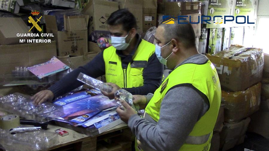 Retirados del mercado más de 150.000 juguetes falsificados o que no cumplen con la seguridad