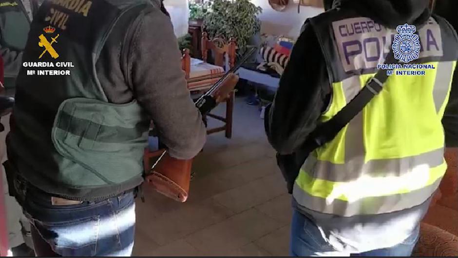 Desarticulada una de las mayores organizaciones dedicada al tráfico de hachís en el Campo de Gibraltar