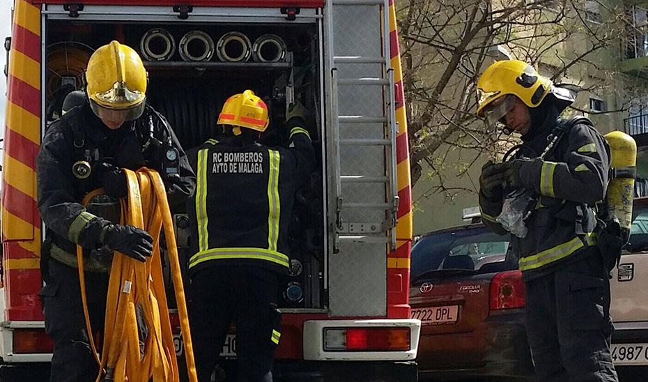 Heridas seis personas en el incendio de una casa en Pizarra