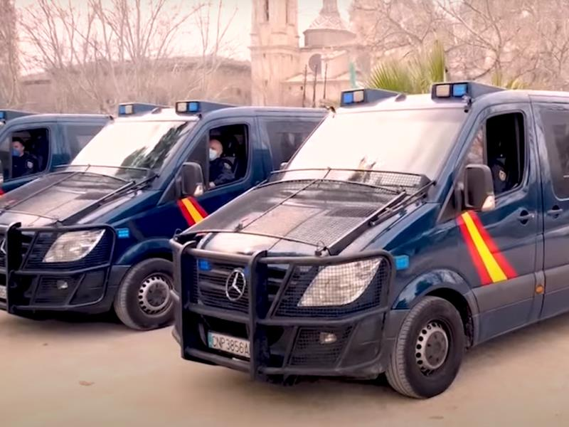 La UIP de Zaragoza recibe la Corbata de la Orden del Mérito Civil