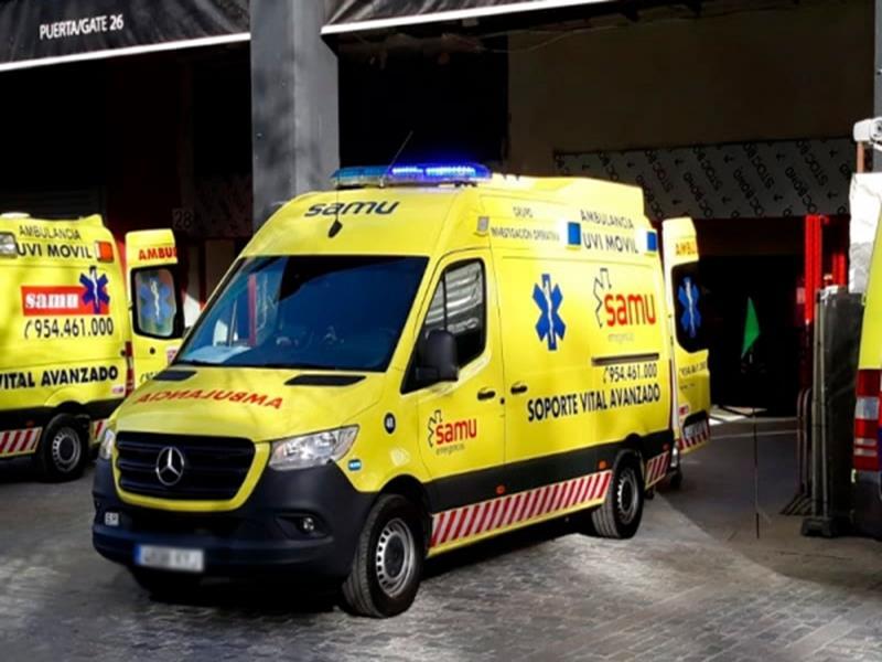 Una llamarada de una bombona de gas deja dos heridos en Peal de Becerro (Jaén)