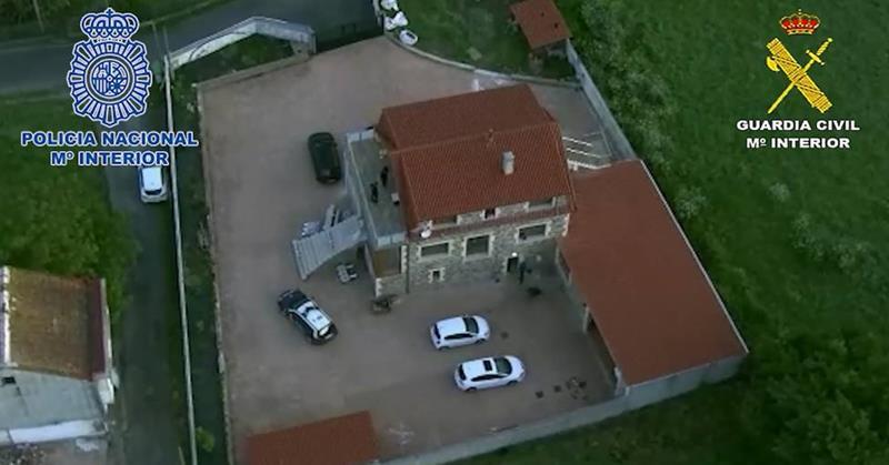 Velutina: golpe al narcotráfico en Galicia