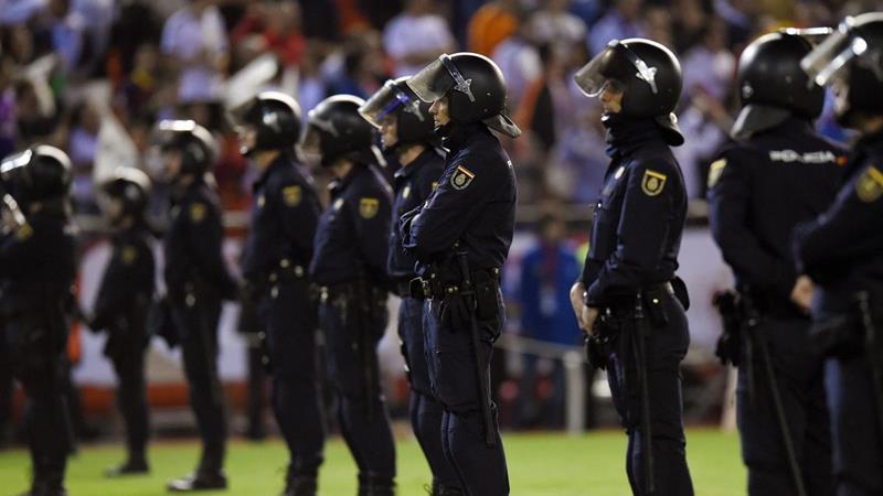Más de 1.000 policías en Sevilla para garantizar la seguridad en los cuatro partidos de la Eurocopa
