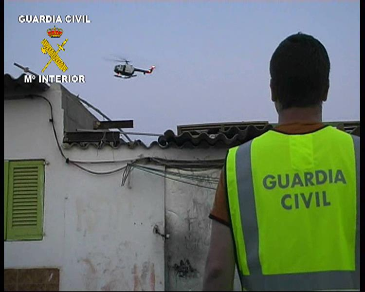 Detienen a una organización dedicada al transporte de droga desde Marruecos e intervienen más de 3.000 kg de hachís