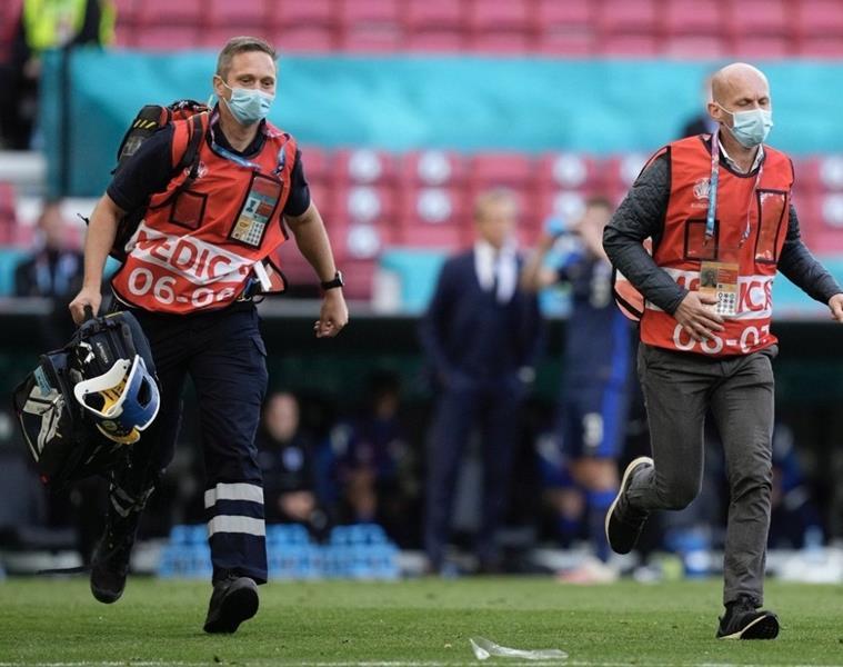 Los dos héroes anónimos que salvaron la vida al futbolista Eriksen