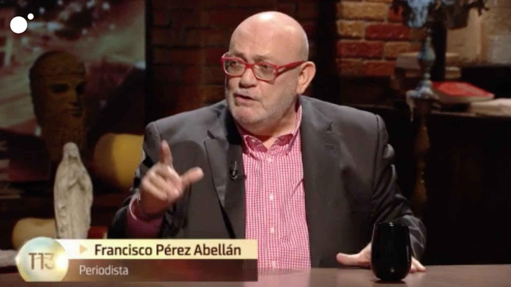 Francisco Pérez Abellán, el alma de la crónica negra